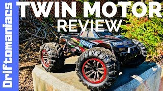 Hosim Monster Truck Review Twin Motors! S9125