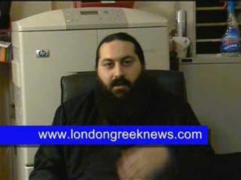 London Greek News interviews Father Vassilis Papavassiliou