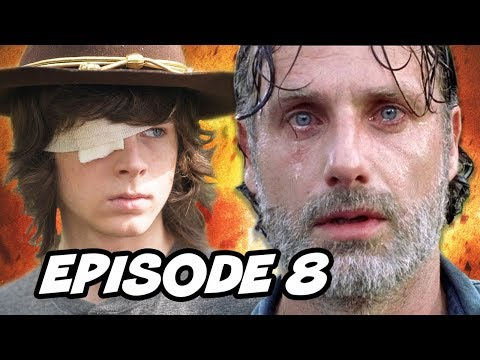 Walking Dead Season 8 Episode 8 - Mid Season Finale TOP 10 WTF and Easter Eggs