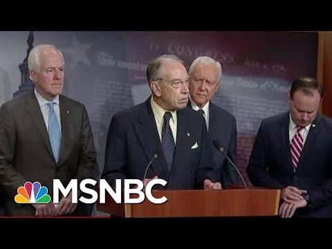 Sen. Merkley: White, Male, GOP 'Crew' Treat Women Like A Problem | The Beat With Ari Melber | MSNBC