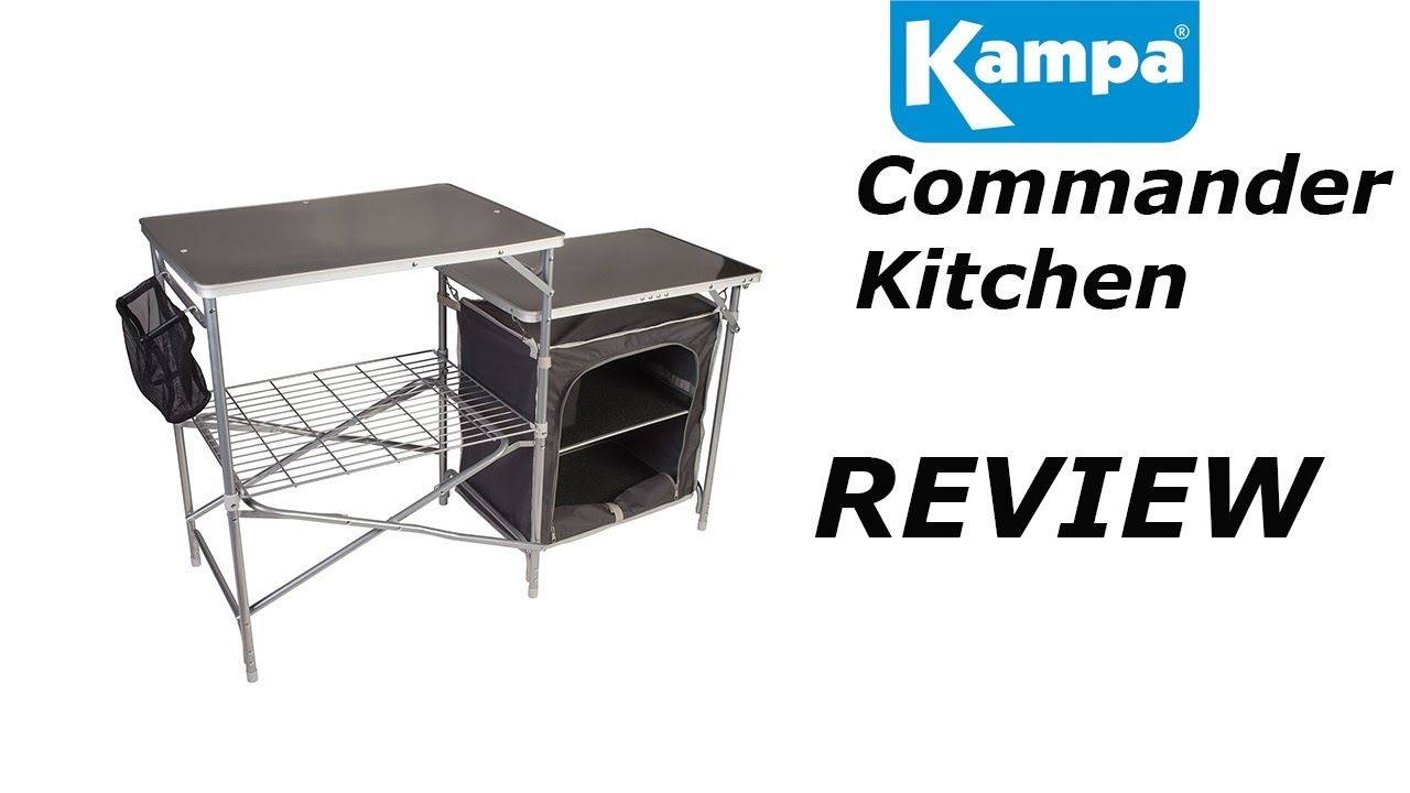 Kampa Commander Camp Kitchen - YouTube