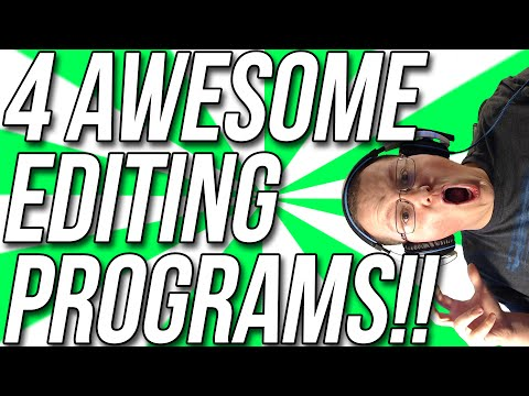 4 Video Editing Programs That Will Make Your Videos Better!!