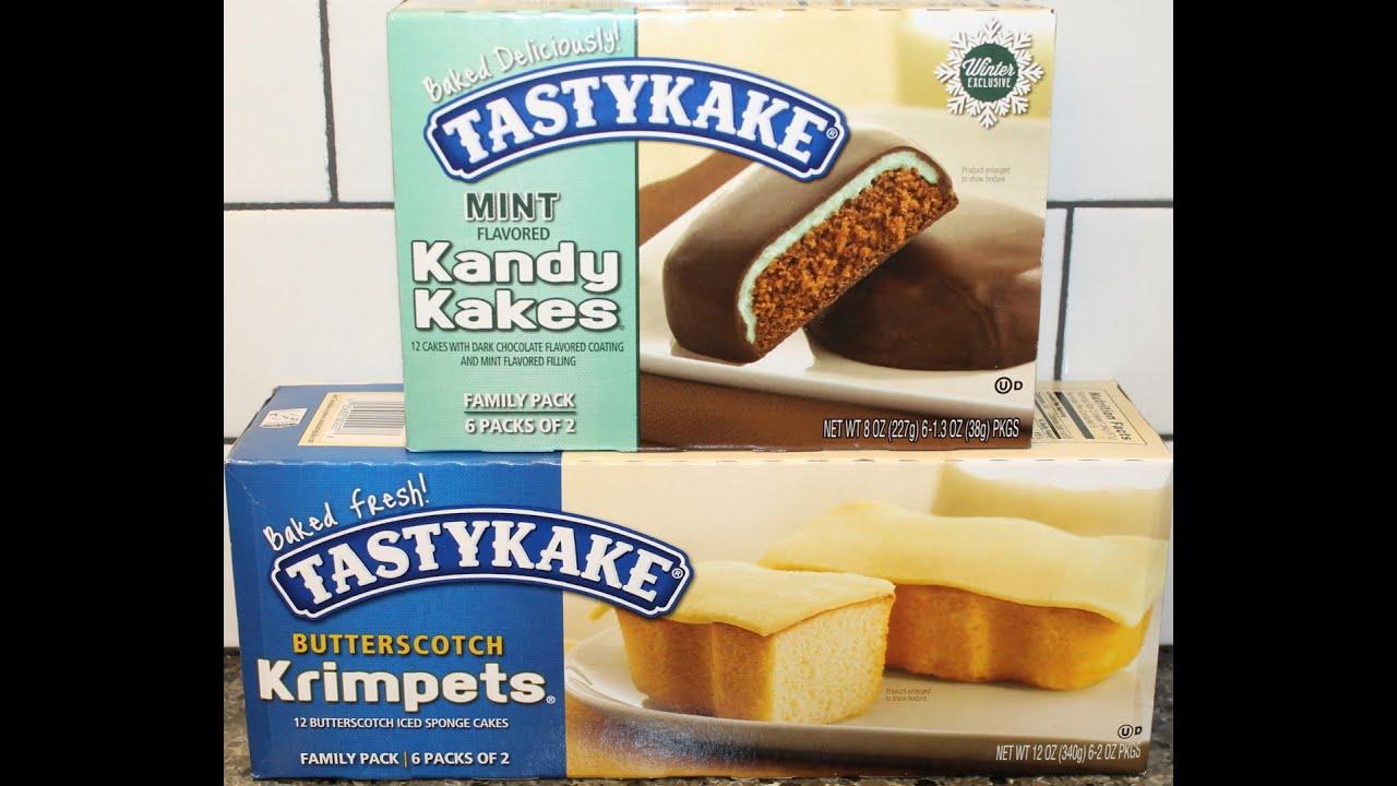 Tastykake Butterscotch Krimpets