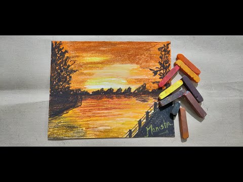 How to Paint a Morning Scene with Soft Pastels – Easy Painting Series #1