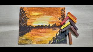 How to Paint a Morning Scene with Soft Pastels | Art of Pastel Colors