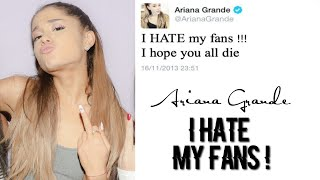 Does ARIANA GRANDE Really Hate her Fans !?