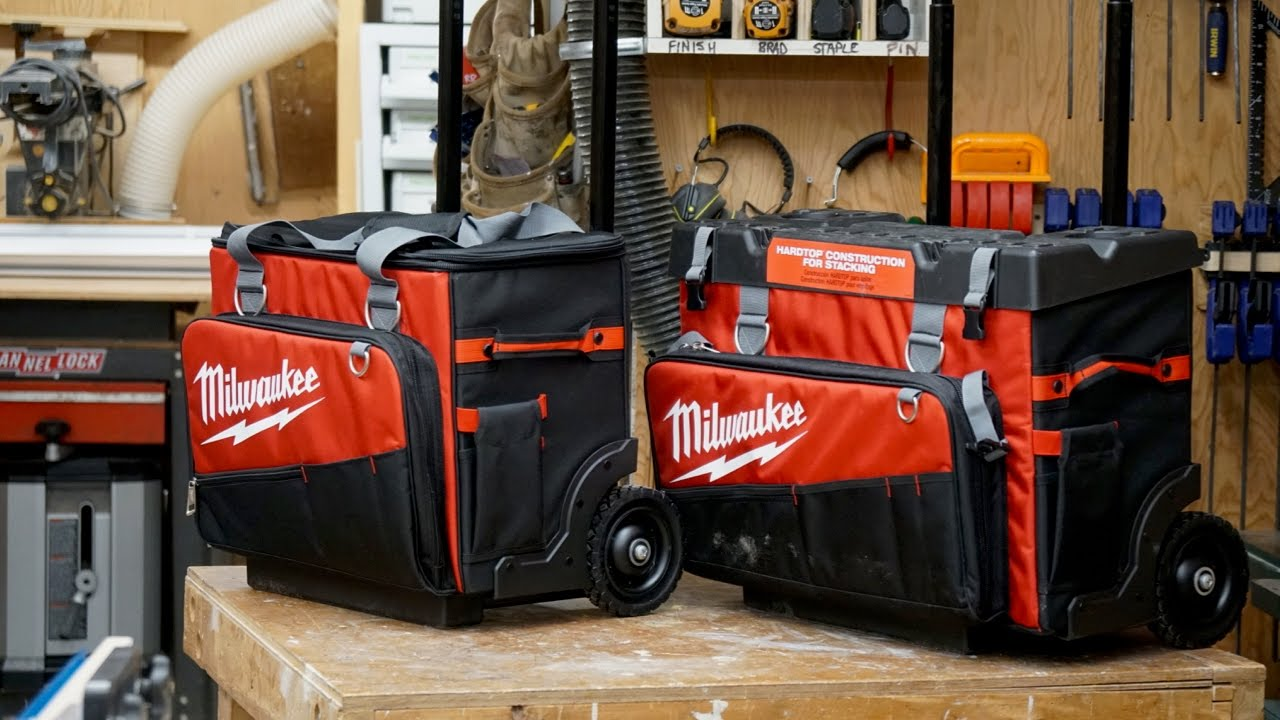 Milwaukee 18 And 24 Rolling Bag Review
