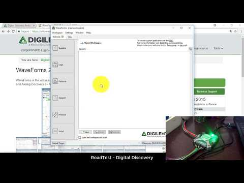 RoadTest Element14 - Digilent Digital Discovery - Part2
