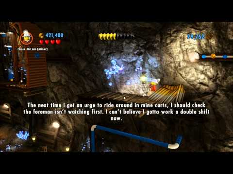 LEGO City Undercover (Wii U) - Complete Playthrough - Chapter 3 (Part 2 - Miner Altercation)