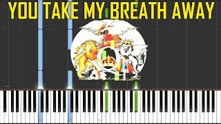 You Take My Breath Away - Queen (Instrumental) [Synthesia Piano Tutorial]