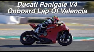 Ducati Panigale V4 Onboard Lap Of Valencia