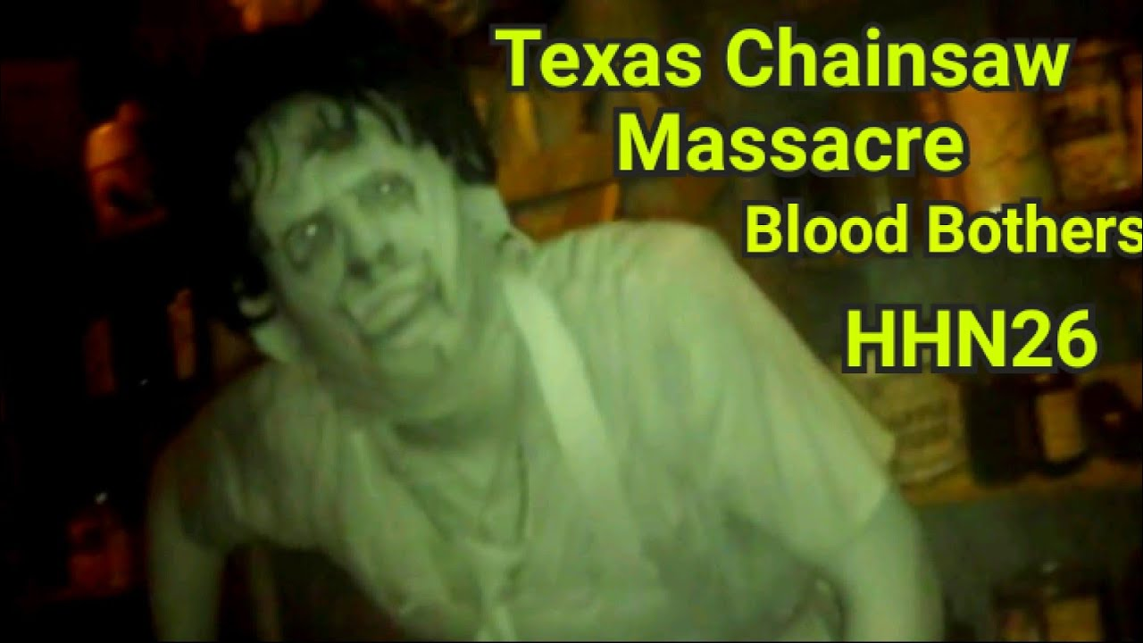 Download Texas Chainsaw Masscare: Blood Brothers HHN 26 -  Universal Studios Hollywood