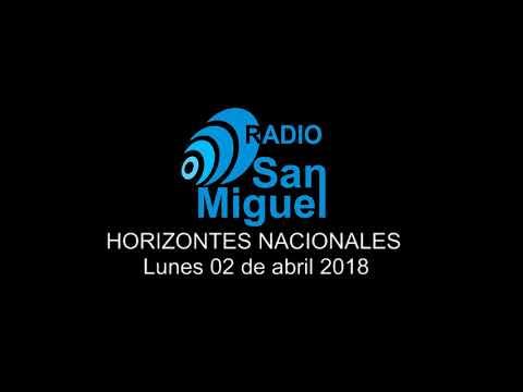 Programa Horizontes Nacionales / 02.04.2018 / Radio San Miguel Online