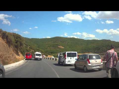 Greece / Driving in Meteora
