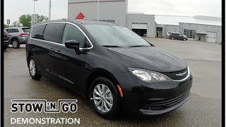 2017 Chrysler Pacifica Stow n' Go™ Seating Demonstration|18405