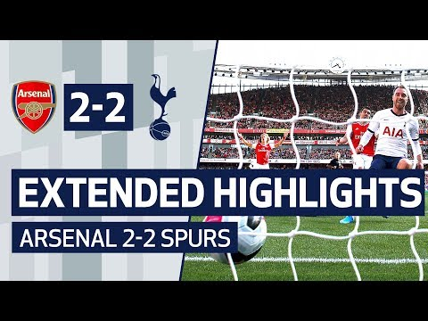 EXTENDED HIGHLIGHTS | ERIKSEN SCORES 50TH PL GOAL | ARSENAL 2-2 SPURS