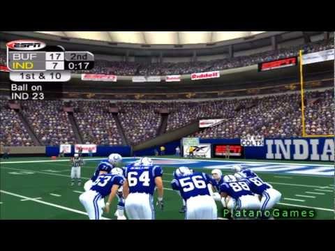 NFL 2012 Week 12 - Buffalo Bills (4-6) vs Indianapolis Colts (6-4) - 1st Half - NFL 2K5 - HD