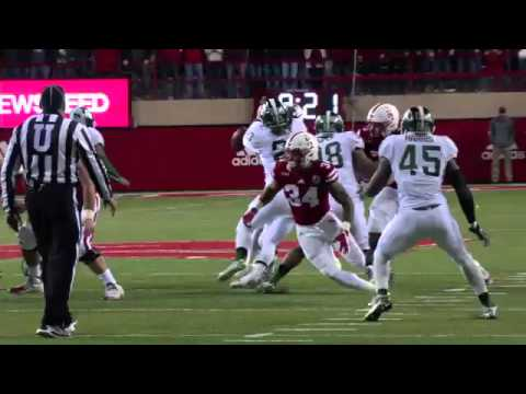 Nebraska vs Michigan State 2015 Comeback upset win with radio announcers The Grand Finale
