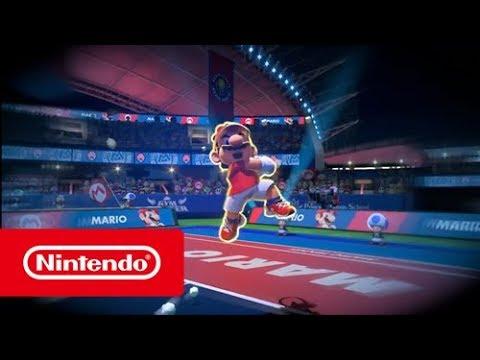 Mario Tennis Aces - Affrontez-vous avec Mario Tennis Aces sur Nintendo Switch ! (Switch)