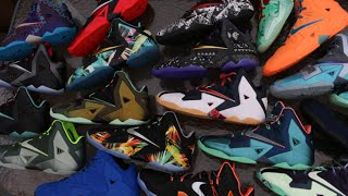 MY NIKE LEBRON 11 COLLECTION!