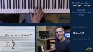 BASIC MUSIC THEORY 8 - Dominant 7th Chords