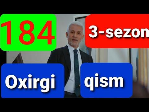 Qora Niyat 184 Qism Uzbek Tilida Turk Filim кора ният 184 кисм 3 Sezon Oxirgi Qismi Final