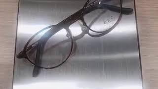 가벼운안경 원형뿔테 울템안경테