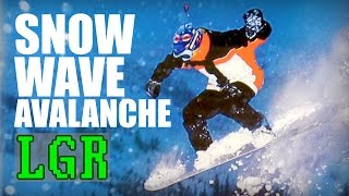 LGR - Snow Wave Avalanche Review [Extreme Wintersports Pt.2]