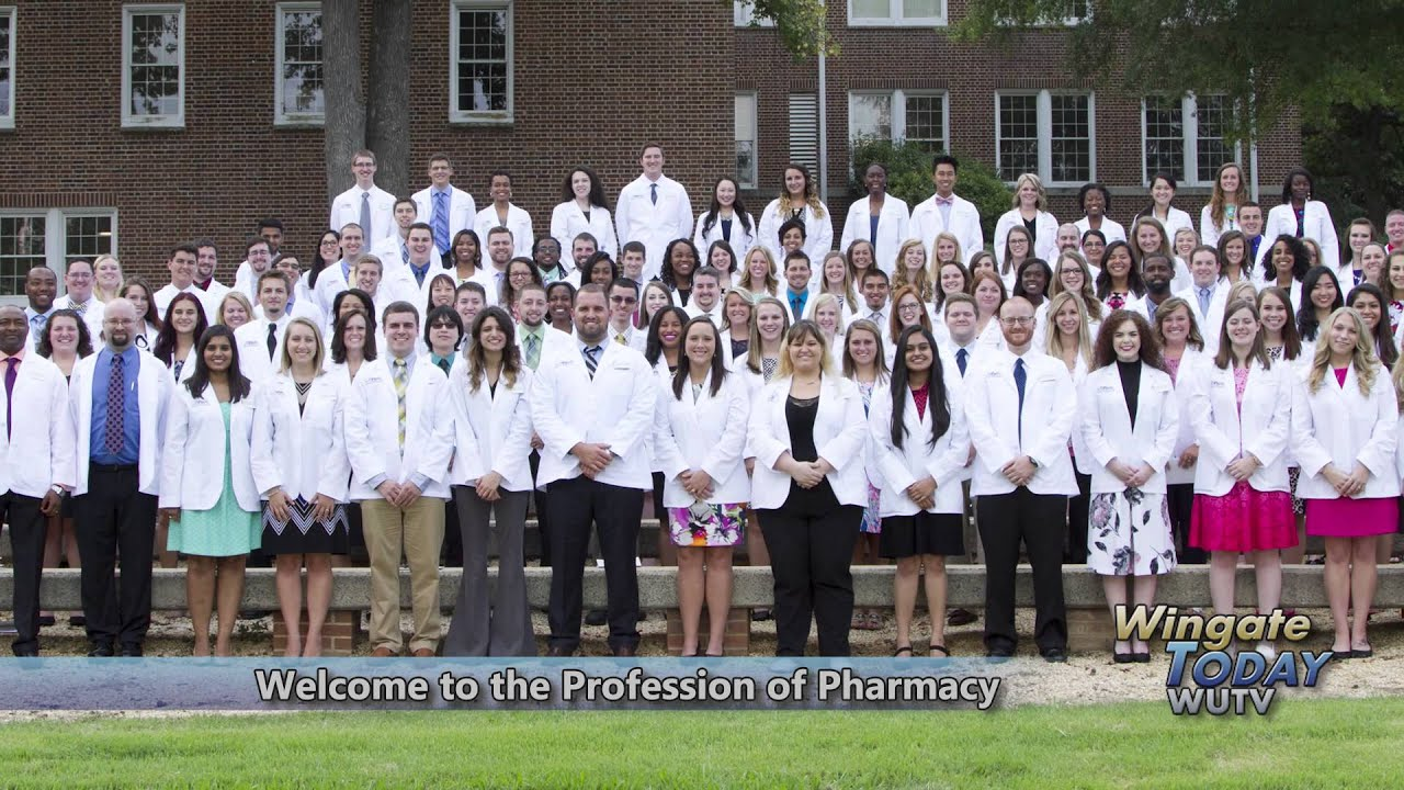 Wingate university welcome to the profession of pharmacy for The wingate