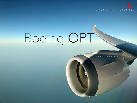 How to use Onboard Performance Tool ( Boeing OPT )