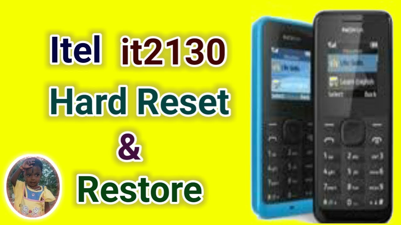 How to make Itel it2130 Hard Reset & Restore by Mobile Software