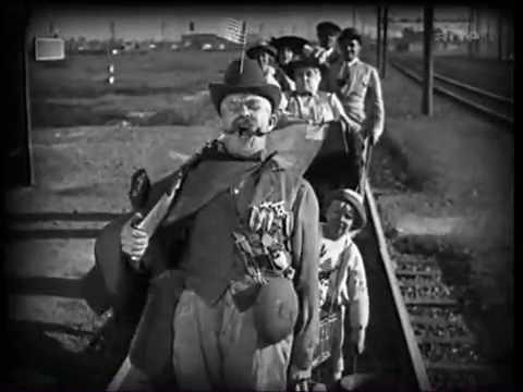 Greed (Erich von Stroheim, 1924): Excerpt 1) McTeague meets Trina's family
