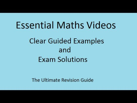 Solving Separable First Order Differential Equations - Ex 1 from YouTube · Duration:  5 minutes 8 seconds  · 697.000+ views · uploaded on 21.09.2008 · uploaded by patrickJMT