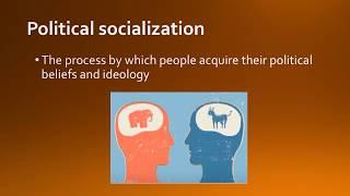 4.2 Political Socialization AP GoPo