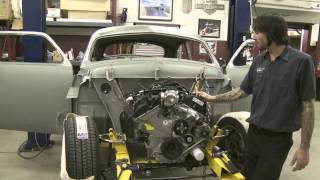 2013 Street Rodder Road Tour 1951 Ford Drivetrain Installation