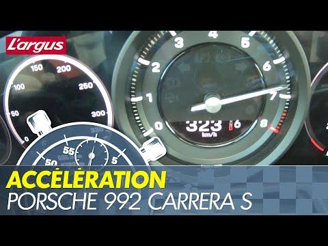 0-324  Porsche 992 Carrera S acceleration top speed
