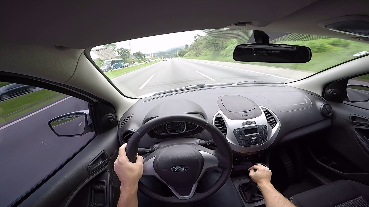 Ford Ka 2017 1 0 Manual Avaliacao Em Estrada Test Drive Onboard