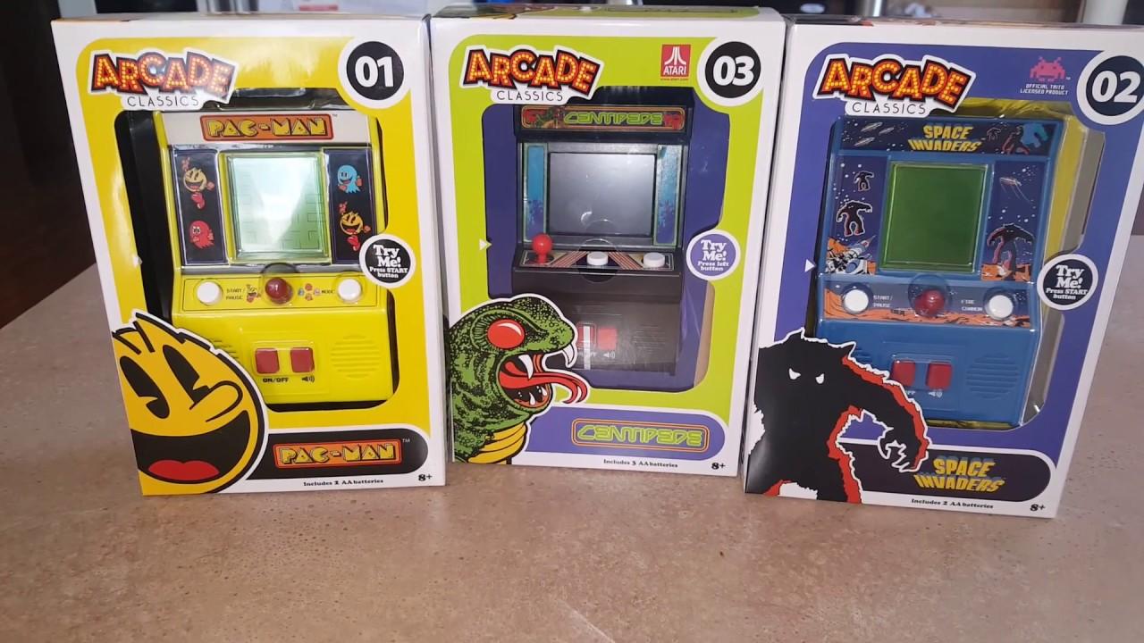 Collectors Alert - Walmart Mini Arcades