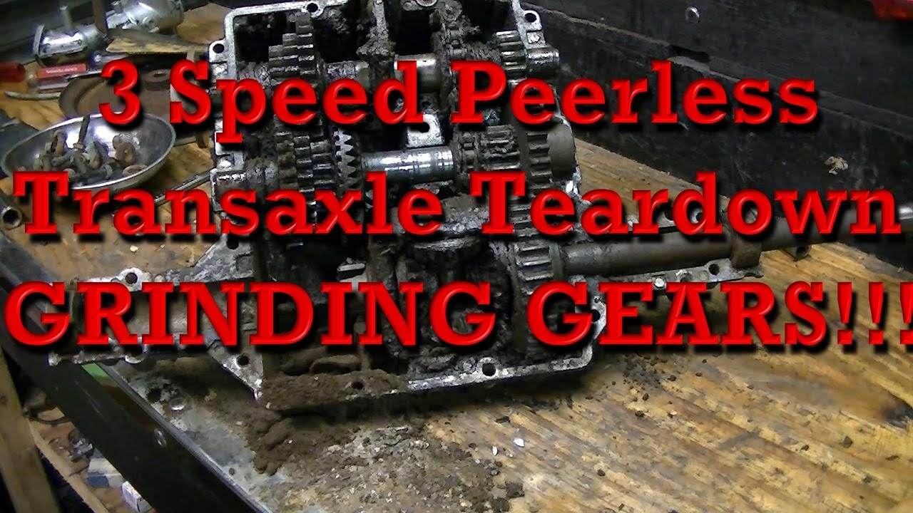3 speed peerless 817 transaxle transmission teardown grinding gears rh youtube com peerless 800 series transaxle manual peerless hydrostatic transaxle manual