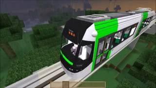 Minecraft Part17-08 RTM綠線-原南村~南紅土高地(直達車)