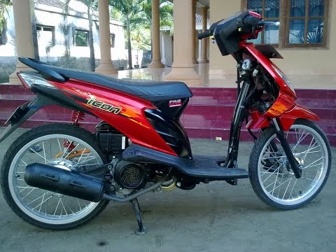 Motor Trend Modifikasi | Video Modifikasi Motor Honda Beat Velg Jari-jari Simple Terbaru