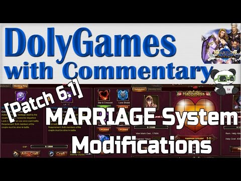 Wartune Patch 6.1 - Marriage System Modifications