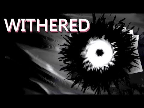 WITHERED - A Dark Horror Visual Novel (All Endings) Manly Let's Play