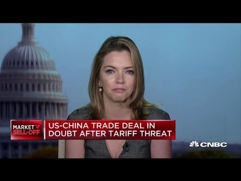 US-China trade deal in doubt after Trump's tariff threat