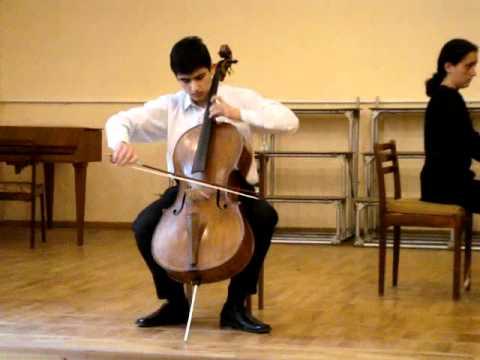 Davydov Cello Concerto No 1 Youtube