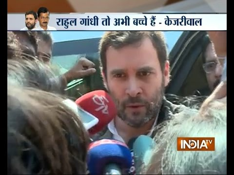 War of Words Start Between Kejriwal and Rahul Gandhi | Delhi Slum Demolition