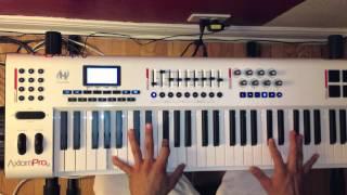 Amor mio Kpaz  Tutorial piano ,Gerardo Ak7