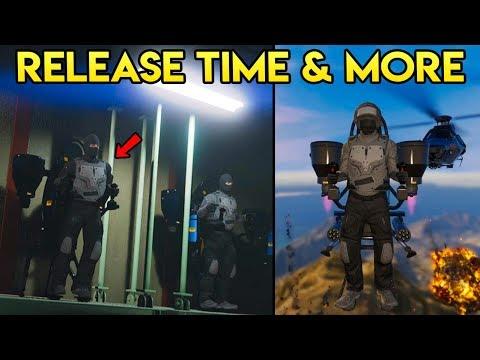 GTA Online - The Doomsday Heist DLC Release Time, JetPack Info, Standard Deluxo & More (GTA Q&A)
