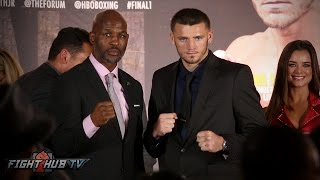 Bernard Hopkins vs. Joe Smith Jr. Full Press Conference and Face Off video