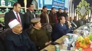 مصر العربية | انهاء خصومة ثارية بحضور وزير الداخلية